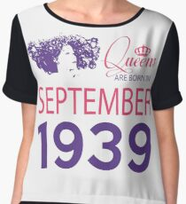 It's My Birthday 79. Made In September 1939. 1939 Gift Ideas. Chiffon Top