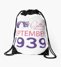 It's My Birthday 79. Made In September 1939. 1939 Gift Ideas. Drawstring Bag