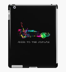 Delorean colors. iPad Case/Skin