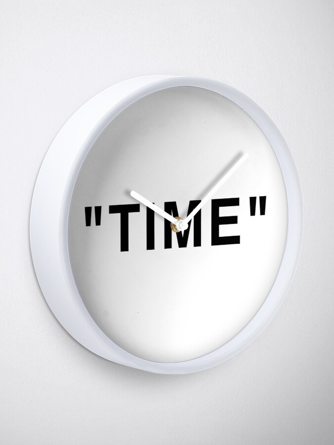 Vista alternativa de Reloj & quot; Tiempo & quot; Comillas