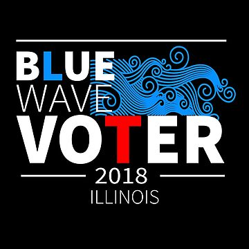 Blue Wave Voter 2018 Illinois by LisaLiza