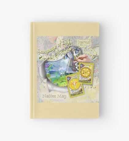 The Language of Light Doodle Symbols on the Solar Plexus Hardcover Journal
