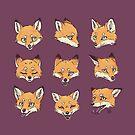 Camo Fox Muster von freeminds