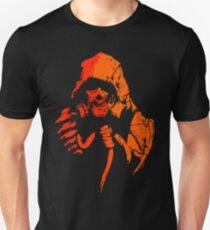 Toxic Crow (orange) Unisex T-Shirt