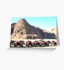 Desert Quads Greeting Card