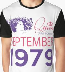 It's My Birthday 39. Made In September 1979. 1979 Gift Ideas. Graphic T-Shirt