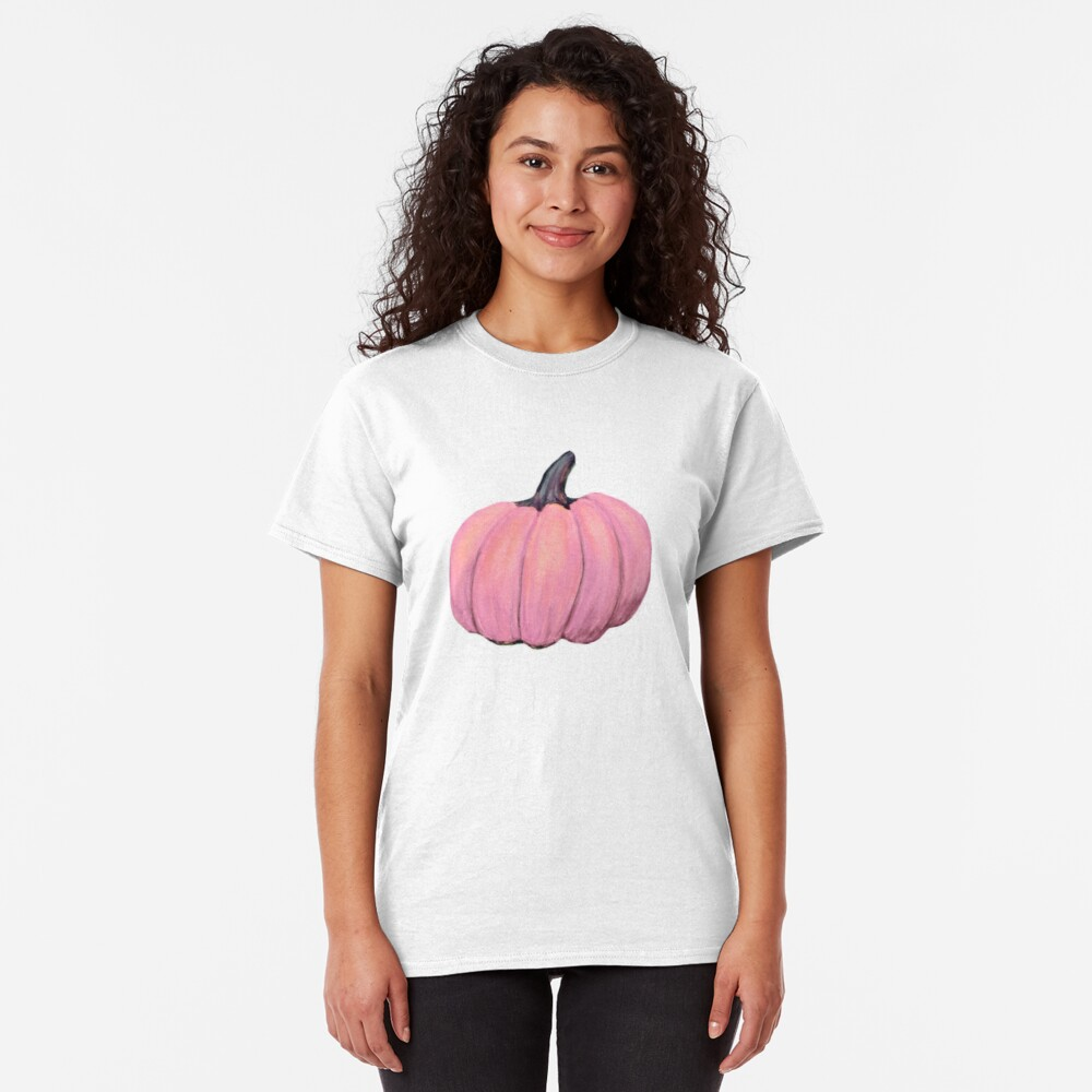 Pink Pumpkin, Fall Delight Classic T-Shirt