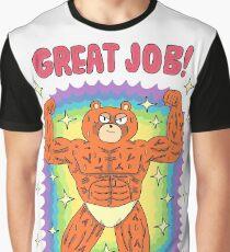 ¡Gran trabajo! Camiseta gráfica