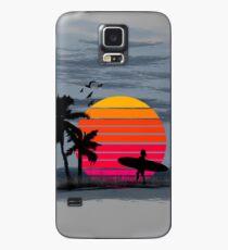 Strand Surfen Leben Hülle & Klebefolie für Samsung Galaxy