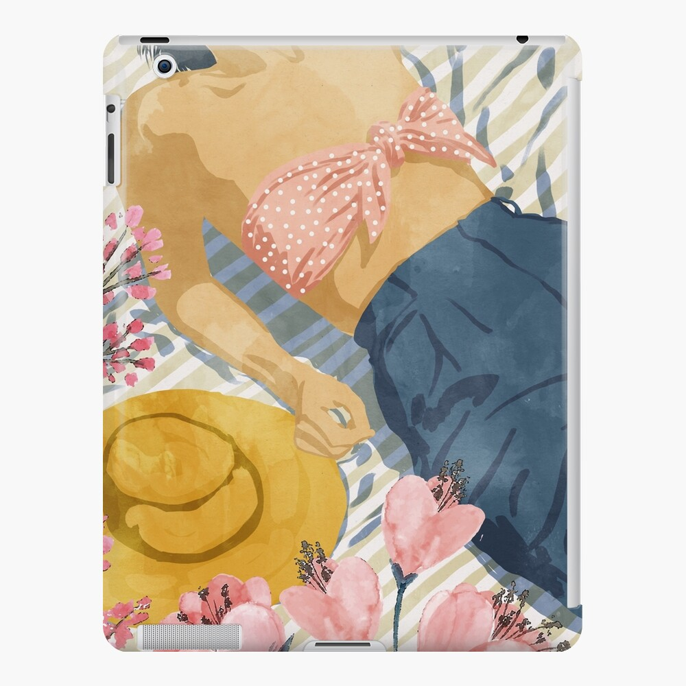 Beach Vacay #redbubble #travel #illustration iPad Case & Skin