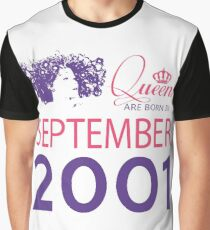 It's My Birthday 17. Made In September 2001. 2001 Gift Ideas. Graphic T-Shirt