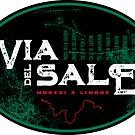 Via del Sale French-Italian Alps T-Shirt & Sticker by ROADTROOPER