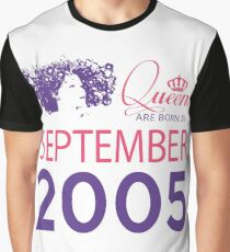 It's My Birthday 13. Made In September 2005. 2005 Gift Ideas. Graphic T-Shirt