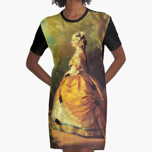 The Empress Eugénie-Franz Xaver Winterhalter Graphic T-Shirt Dress