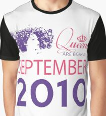 It's My Birthday 8. Made In September 2010. 2010 Gift Ideas. Graphic T-Shirt