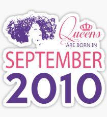 It's My Birthday 8. Made In September 2010. 2010 Gift Ideas. Sticker