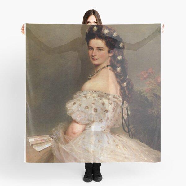 Empress Elisabeth of Austria in dancing dress-Franz Xaver Winterhalter Scarf