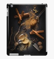 Pumpkin Spice Ingredients - Food Style Photography iPad Case/Skin