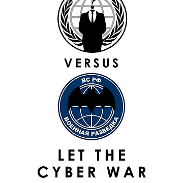 Hacking Shirt - Anonymous versus The GRU by markstones