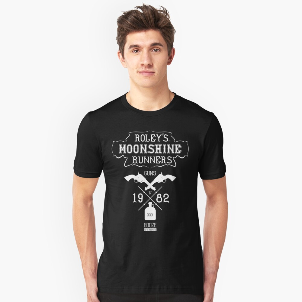 Roley's Moonshine Runners Slim Fit T-Shirt