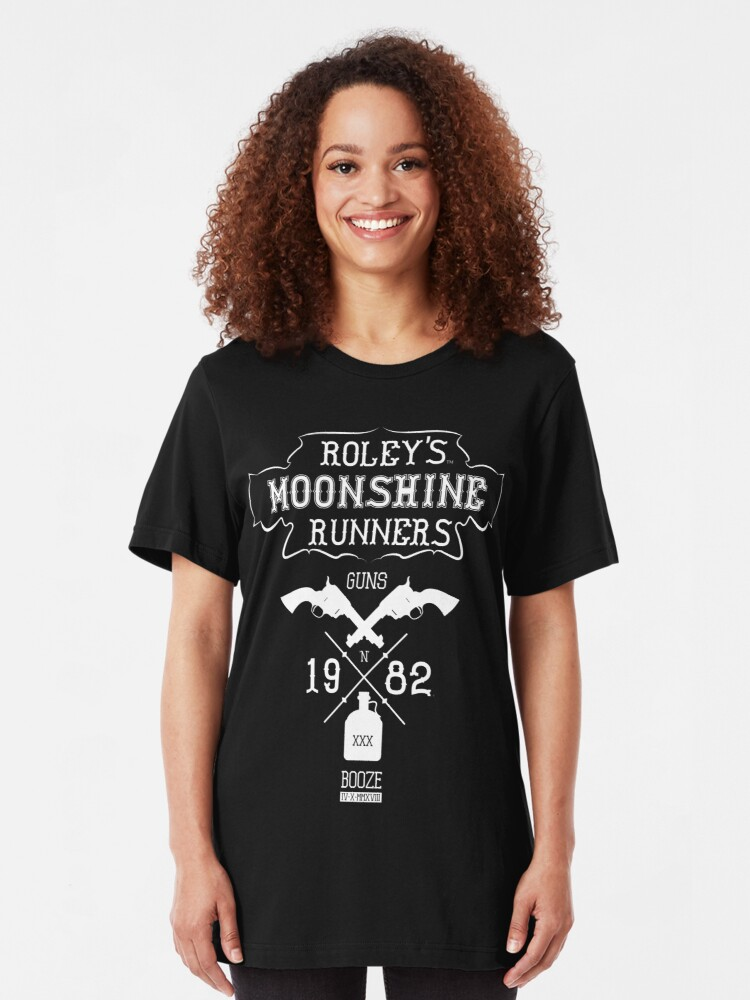 Alternate view of Roley's Moonshine Runners Slim Fit T-Shirt