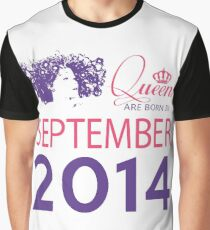 It's My Birthday 4. Made In September 2014. 2014 Gift Ideas. Graphic T-Shirt