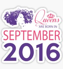 It's My Birthday 2. Made In September 2016. 2016 Gift Ideas. Sticker
