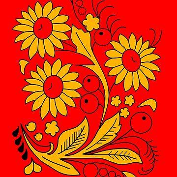 Flowers ornament by sibosssr