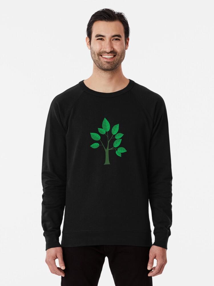 Alternate view of sapling young tree Lightweight Sweatshirt