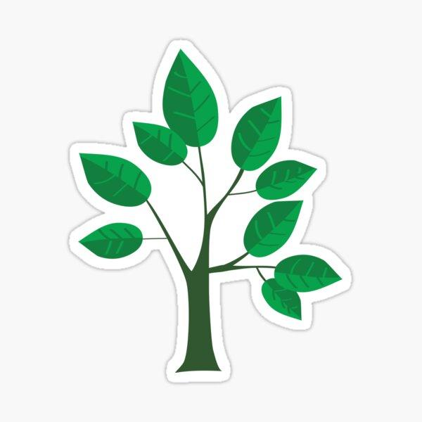 sapling young tree Sticker