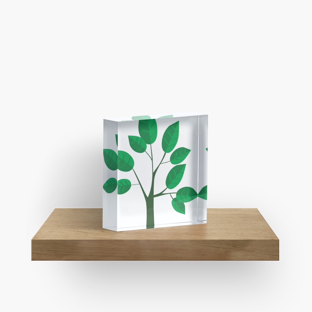 sapling young tree Acrylic Block