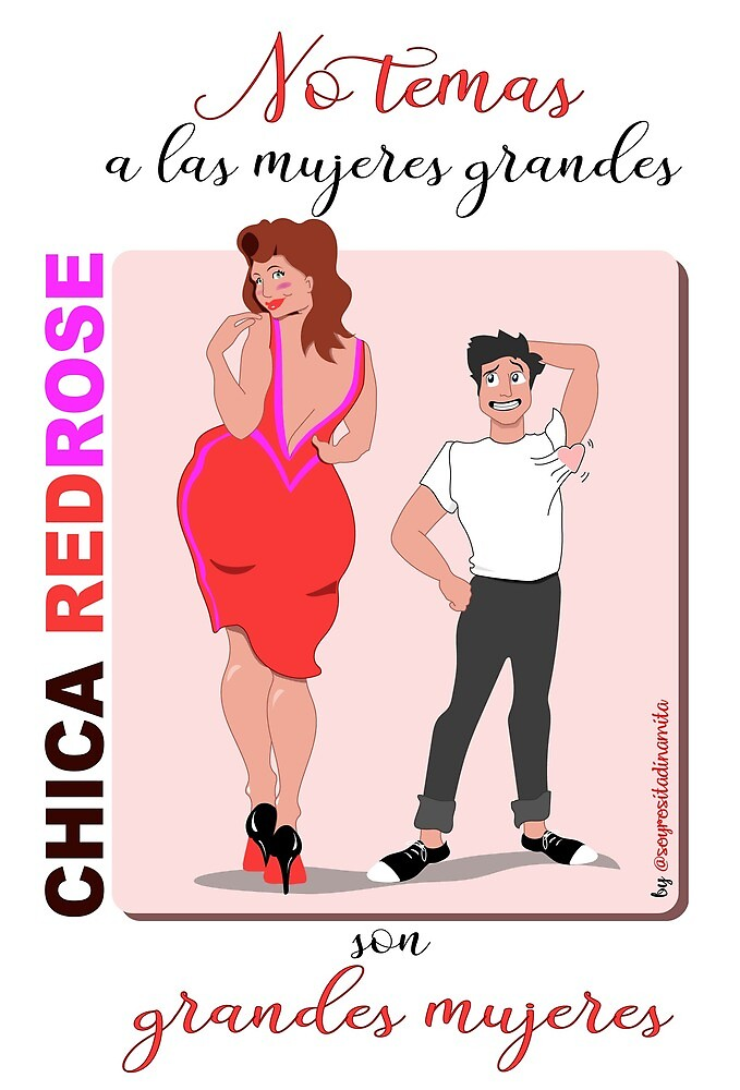 «Mujeres Chica Red Rose » de ChicasRedRose