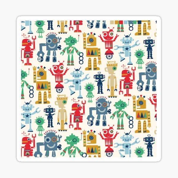 Rockin' robots Sticker