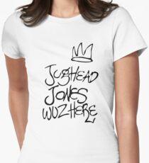 Jughead Jones Wuz Here Women's Fitted T-Shirt