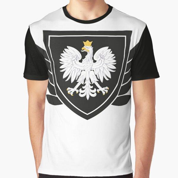 Polska Adler Wappen Logo I Fun I Lustig I Sprüche I Girlie Shirt