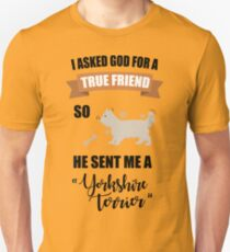 Yorkshire Terrier Mom & Dad Gifts Unisex T-Shirt