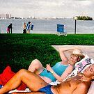 Afternoon Sunbathers by photorolandi