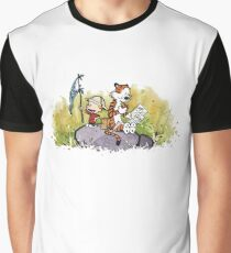 Exploring Calvin and Hobbes Graphic T-Shirt