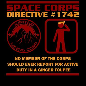 JMC Space Corps Directive #1742 Ginger Toupee by McPod