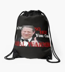 Is it Hot in Here or is it Just You? Drawstring Bag