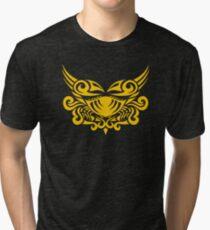 Zodiac Sign Cancer Gold Tri-blend T-Shirt
