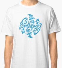 Zodiac Sign Pisces Blue Classic T-Shirt