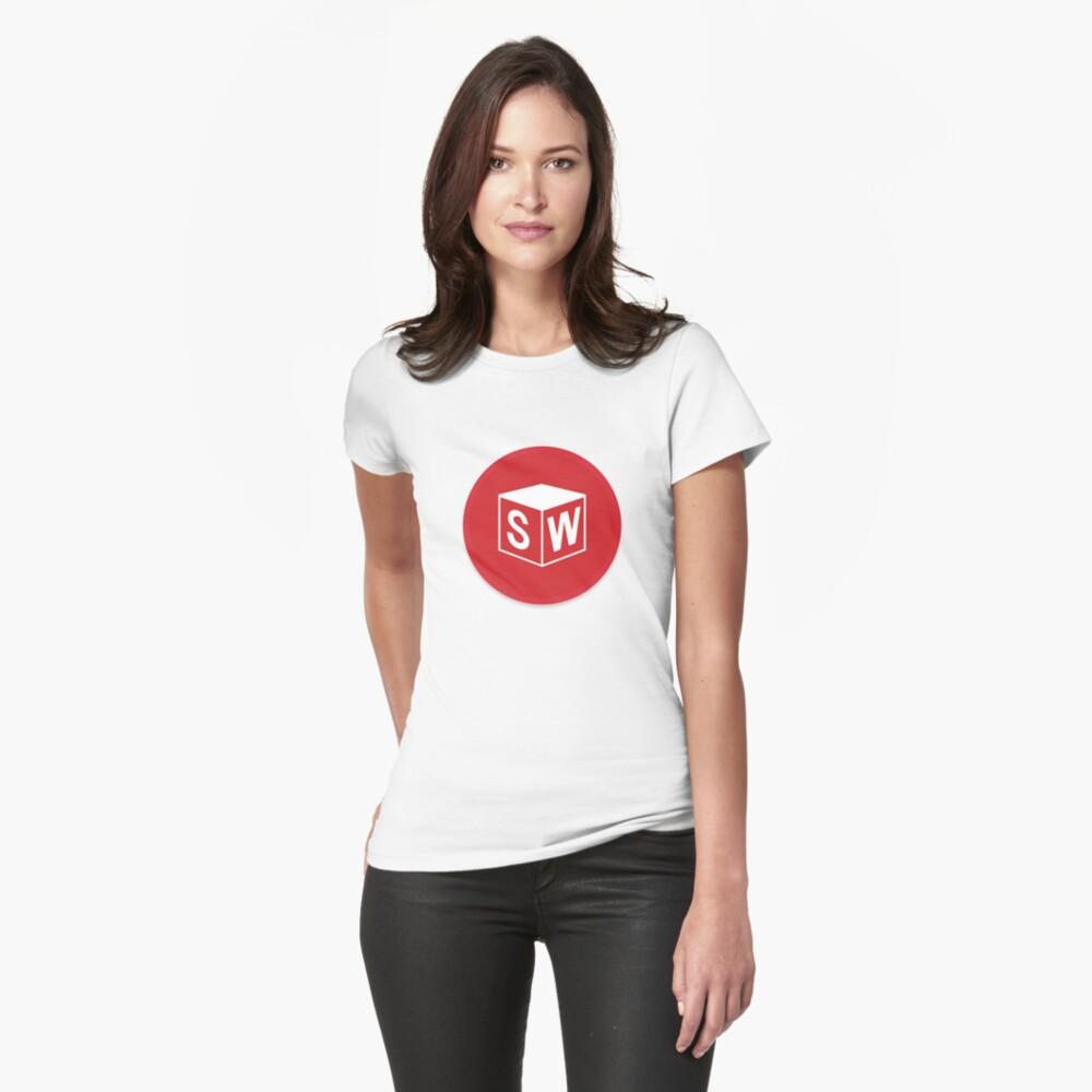3D Cad/Cam/Cae Solid Works Designer v2 Womens T-Shirt Front