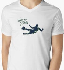 DARE TO ZLATAN 2 Men's V-Neck T-Shirt