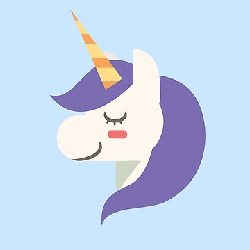 Magical Purple Unicorn by Deesdesigns