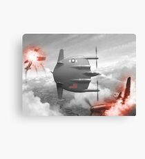 Flying flapjack Canvas Print