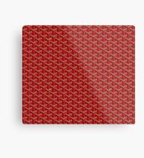 red goyard Metal Print