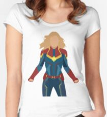 captain Fitted Scoop T-Shirt