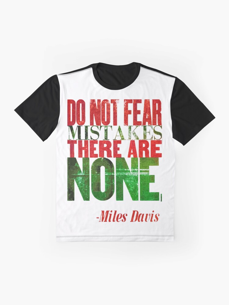 Alternate view of Miles Says Graphic T-Shirt