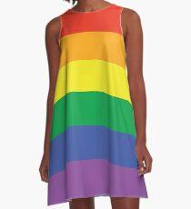 Rainbow pride A-Line Dress